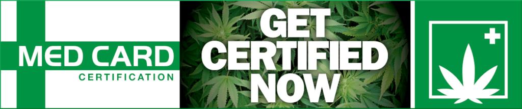 Get certified now