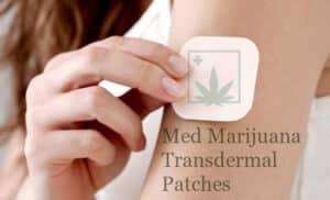 Med Marijuana Transdermal Patches